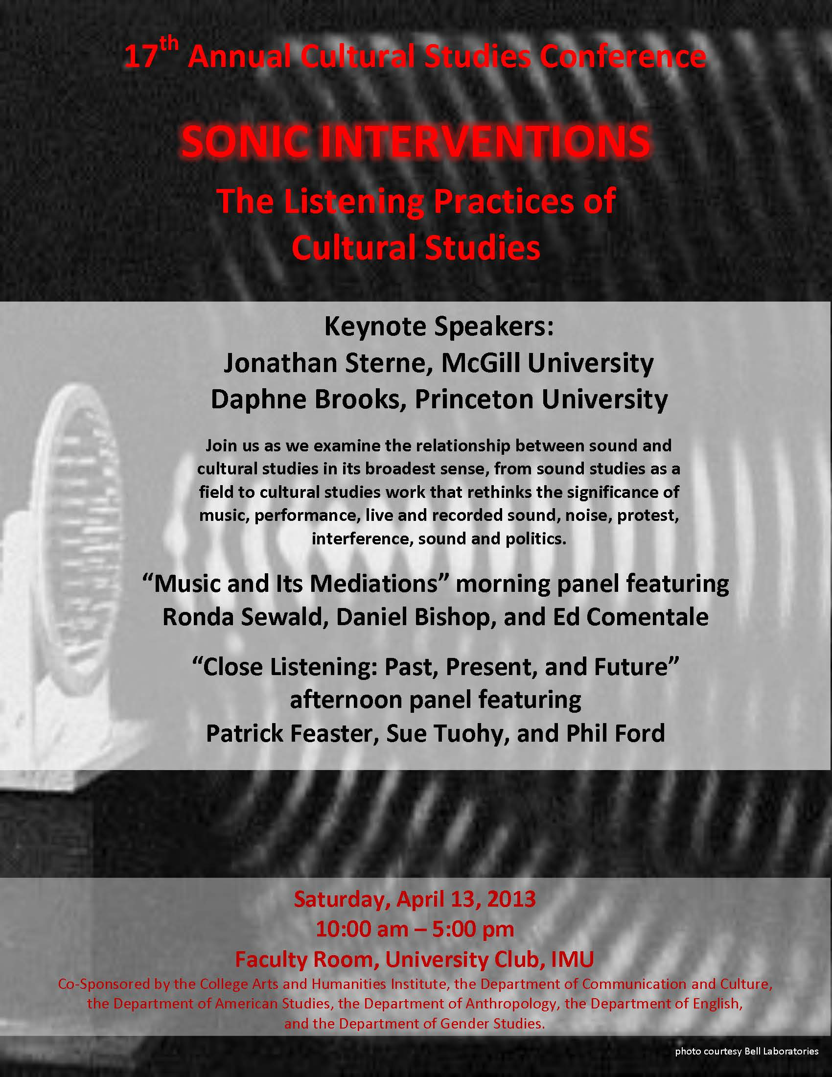 2013 Conference: Sonic Interventions